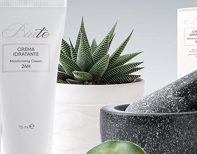 Biuté: Cosmetics Brand Indentity