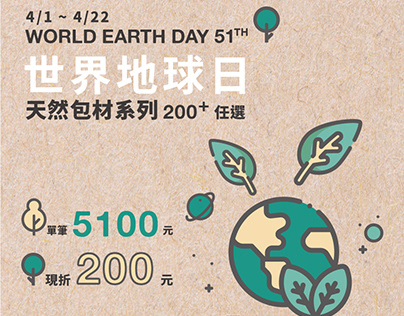World Earth Day 51th