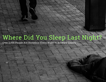 Where did you sleep last night?