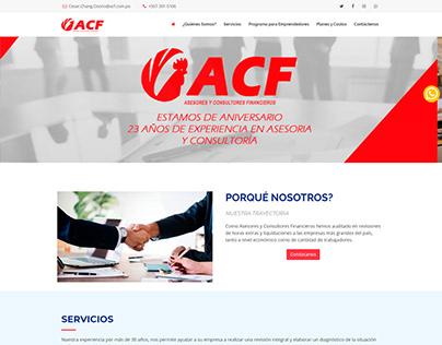 Sitio Web ACF Panamá