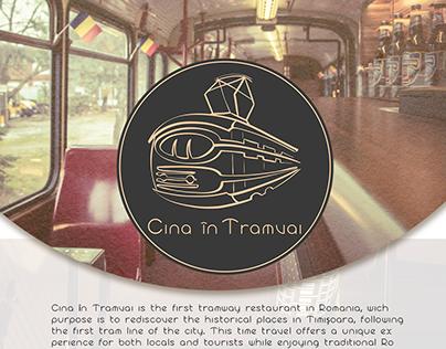 Cina în Tramvai | Tramway restaurant Branding