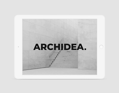 Archidea Identity and Website