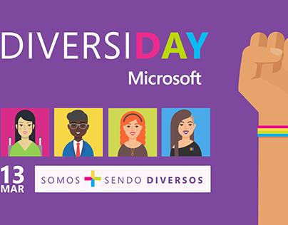 Diversiday - evento para Microsoft