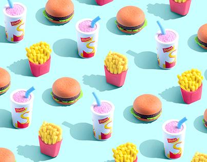 Eraser food.