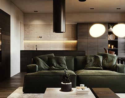 LIz | apartment in Kyiv, Ukraine, 2020