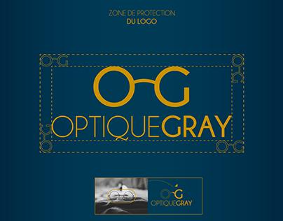 OptiqueGray, Logotype & Branding