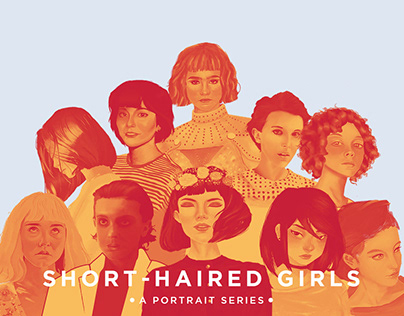 Short-Haired Girls: a Portrait Series