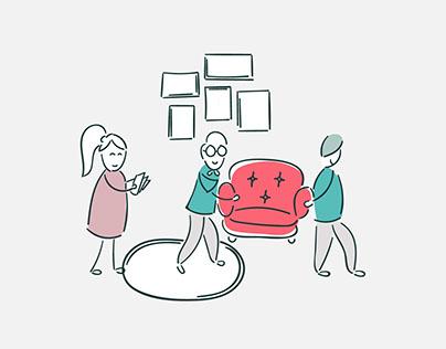 Zefo Website Illustrations