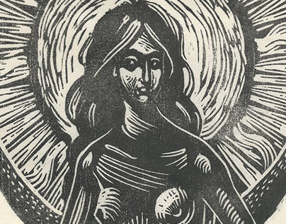 Eclipse | Woodcut