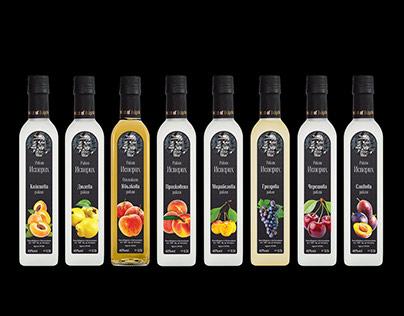 Label Design - Rakia Isperih