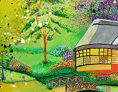 Landscapes - Watercolor Paintings