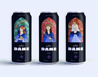 NOTRE DAME - Bière Artisanale