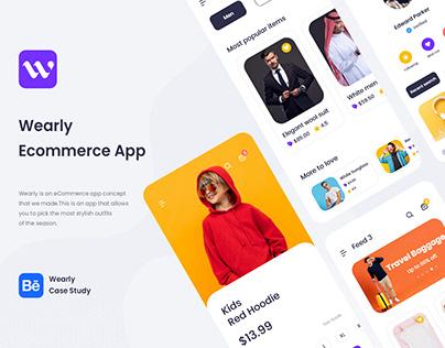 Wearly eCommerce App Ui Kit