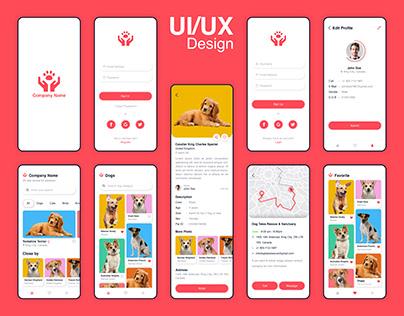 Adoption app design