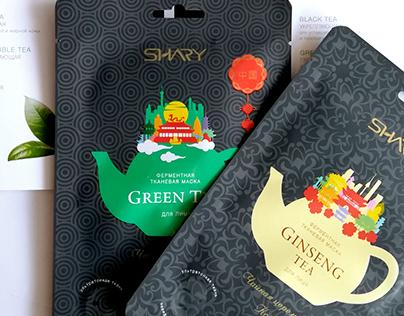 Дизайн для масок TM SHARY