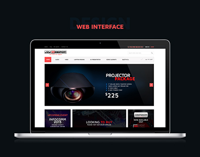 AV Rental Web