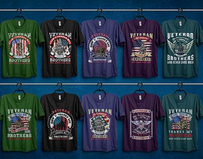 US Veteran T-shirt Bundle
