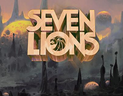 Illustrations for Seven Lions