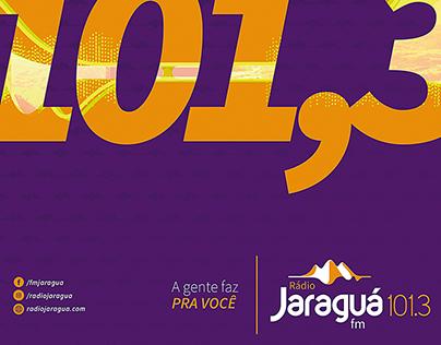 Rádio Jaraguá 101.3 fm - Identidade Visual