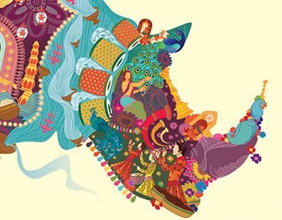 Durga Puja for Rhino