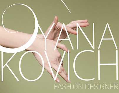 Logo design for fashion designer