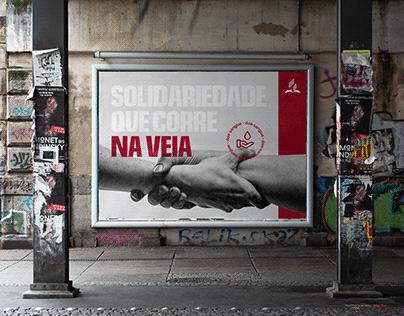 Solidariedade que Corre na Veia