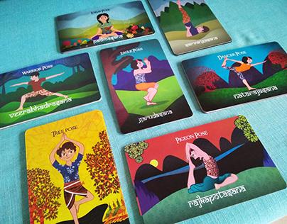 Yoga Flash Cards