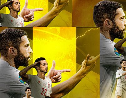 Spain in semi final