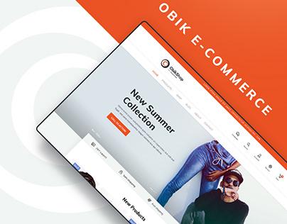 Obik - Simple & Modern E-commerce Concept
