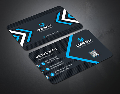 Corporate Business Card Template : 12