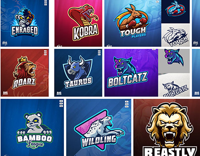 Animal Esport Logos