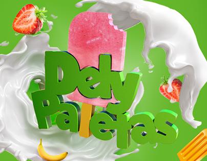 Dely Paletas Branding