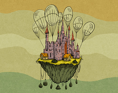 Blimps and Floating Castles