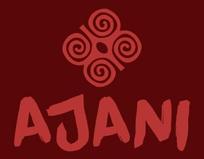 Identidade visual | Projeto Ajani
