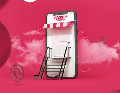 Noqaty | Social Media Design
