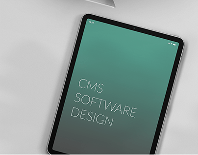 CMS-Software Design and Prototyping