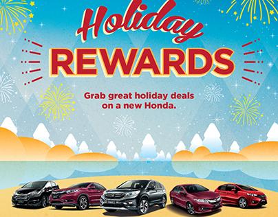 Honda Year End Promo Campaign