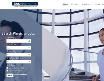BAS Healthcare - Design, Data Migration & Integration