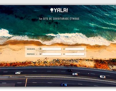 YALA ! - Visual identity & Interface UI/UX