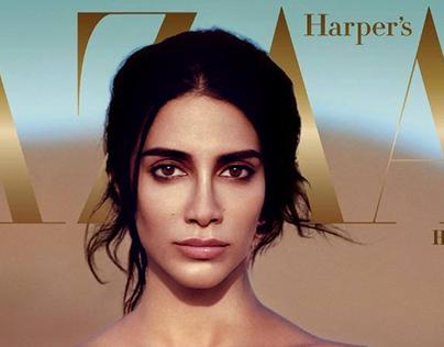 Harpers Bazaar Arabia Jan 2017 Cover