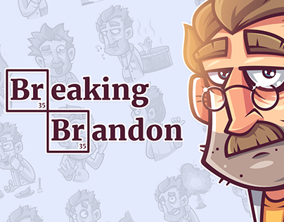 Breaking Brandon — Telegram Stickers
