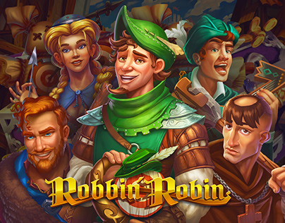 Robin & Cleoparta | Game Art