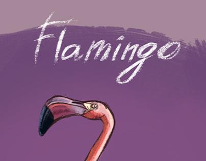 Flamingo character