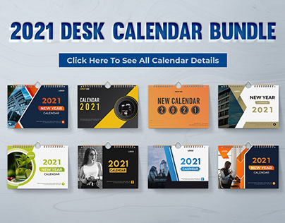 2021 Desk Calendar Bundle