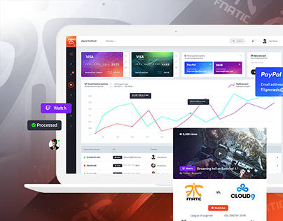 PixieHuge | eSports & Gaming WordPress Theme on Behance