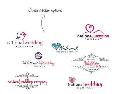Logo for National Wedding Company