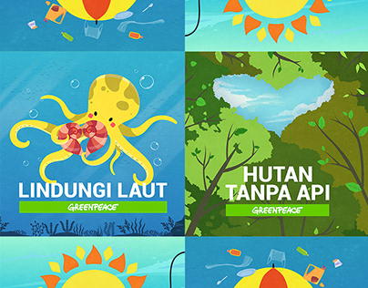 Campaign Banners : GP Indonesia