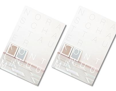 Nora Schattauer: Kontinuum   Editorial Design