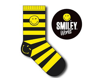 Diseño de Calcetines - Smiley Word