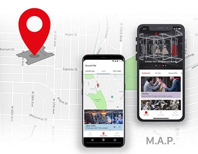 Location reccomendation App - M.A.P.
